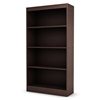 Axess Brown Bookcase / Display Unit with 4 Shelves