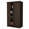 Morgan Chocolate Brown Floor Cabinet