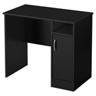 Axess Small Desk - Pure Black