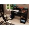 Axess Black Computer Desk with Low Hutch - SS-7270076