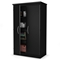 Morgan Black Storage Cabinet with Double-Lock - SS-7270970