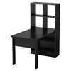 Annexe Craft Table and Storage Unit Combo - Pure Black