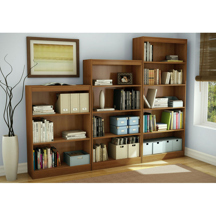 Axess 4-Shelf Display Unit in Morgan Cherry - SS-7276767C