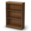 Axess 3-Shelf Display Unit in Morgan Cherry