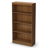 Axess 4-Shelf Display Unit in Morgan Cherry
