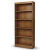 Axess 5-Shelf Display Unit in Morgan Cherry