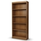 Axess 5-Shelf Display Unit in Morgan Cherry - SS-7276768C