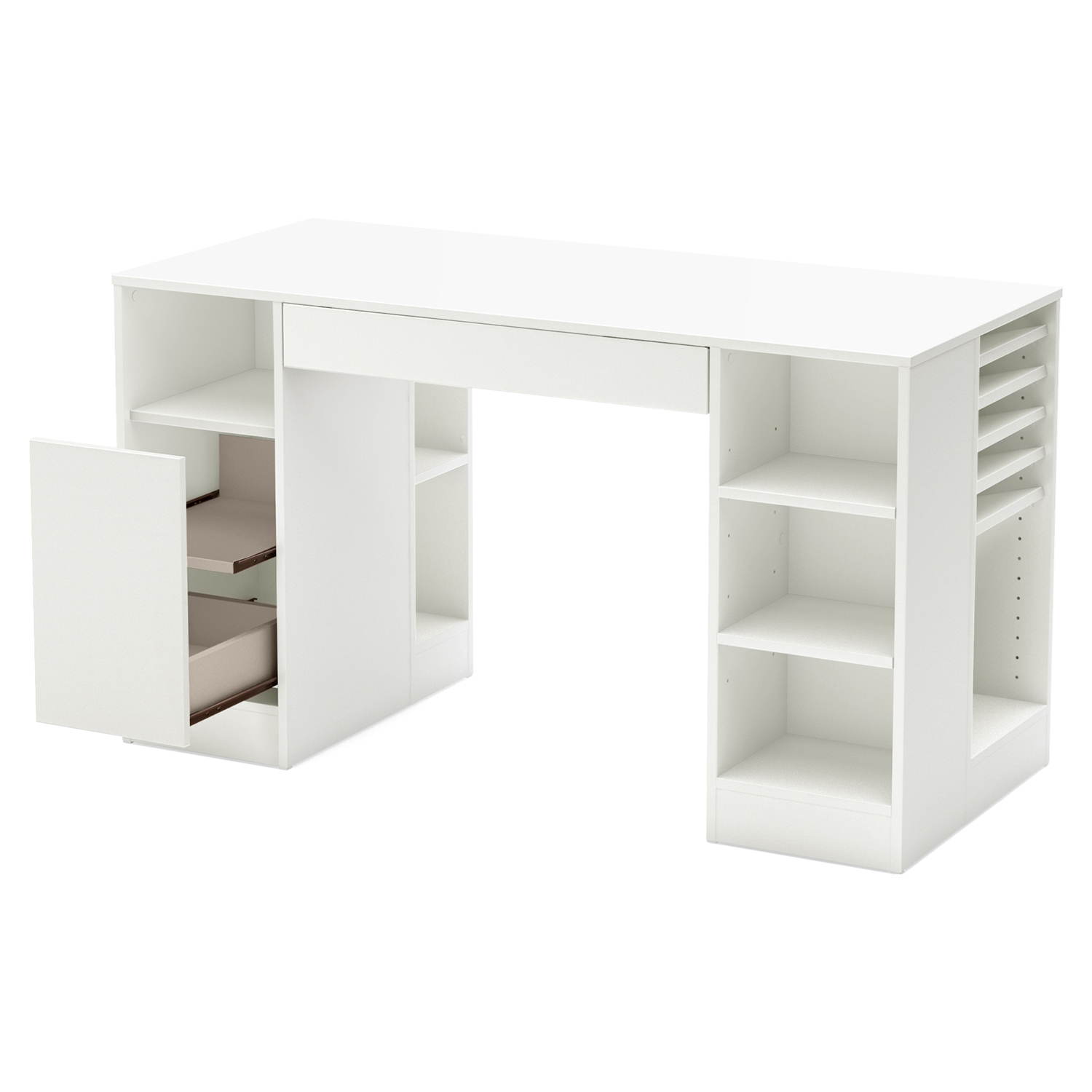 Crea Craft Table - Pure White