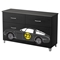 Luka 6 Drawers Double Dresser - Car Decals, Black Onyx and Charcoal - SS-8050025K