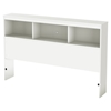 Karma Full Bookcase Headboard - Pure White