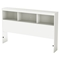 Karma Full Bookcase Headboard - Pure White - SS-9002A1
