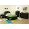 Lazer Twin Mates Bed - 3 Drawers, Black Onyx - SS-9005080