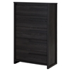 Tao 5 Drawers Chest - Gray Oak