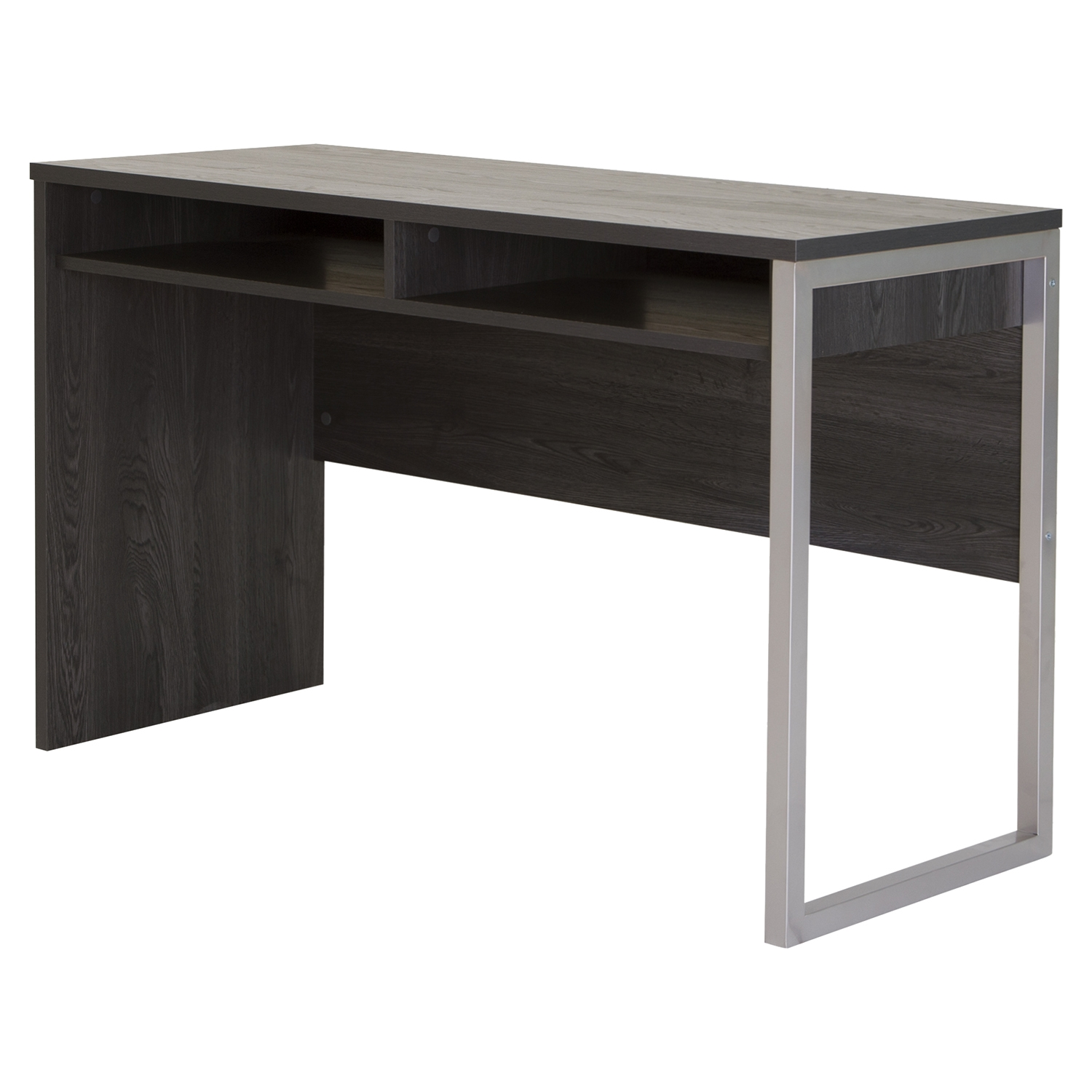 Interface Office Desk - Gray Oak
