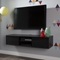"Agora 56"" Wide Wall Mounted Media Console - Black Oak - SS-9030676"