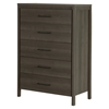Gravity Chest - 5 Drawers, Gray Maple