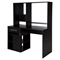 Annexe Home Office Computer Desk - Pure Black - SS-9044070