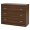 Mobby 3 Drawers Chest - Morgan Cherry - SS-9055033