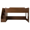 Mobby Twin Loft Bed with Stairs - Morgan Cherry