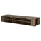 "City Life 66"" Wall Mounted Media Console - Weathered Oak - SS-9062677"