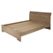 Fusion Queen Bed - Rustic Oak - SS-9063282