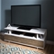 Reflekt TV Stand - 2 Drawers, Weathered Oak and Pure White - SS-9065677