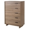 Fynn Chest - 5 Drawers, Rustic Oak - SS-9067035