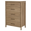 Gravity Chest - 5 Drawers, Rustic Oak