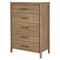 Gravity Chest - 5 Drawers, Rustic Oak - SS-9068035