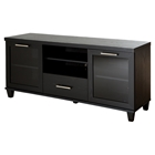 Adrian TV Stand - Black Oak