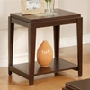 Ice End Table with Square Top