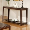 Ice Contemporary Sofa Table in Cherry