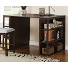 Bradford Dark Oak Counter Height Writing Desk