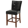 Granite Bello Black Counter Height Parsons Chair