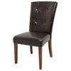 Montibello Parsons Chair in Dark Brown
