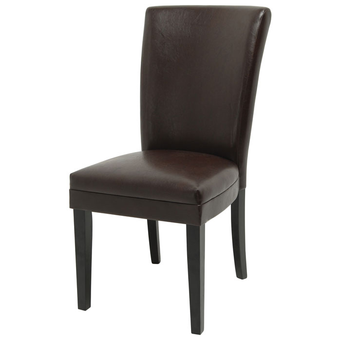 Willow Parsons Chair with Black Legs