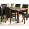 Montibello Marble Dining Table with Cherry Finished Legs - SSC-MN450T