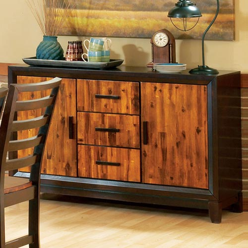 Abaco Contemporary Two Toned Sideboard