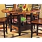 Abaco Drop Leaf Counter Table with Storage Base - SSC-AB200PT-AB200PTB