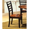 Abaco Two Toned Side Chair with Ladder Back