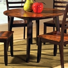 Abaco Round Dual Drop Leaf Dinette Table