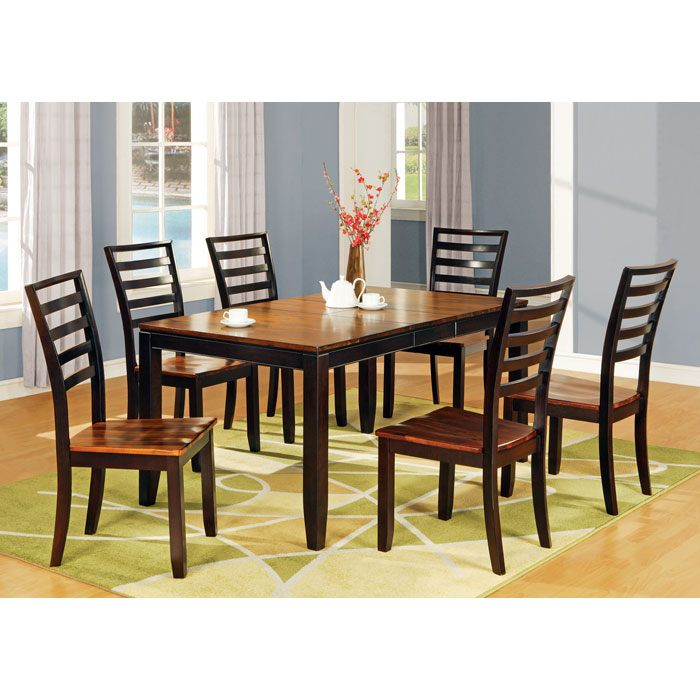 Abaco 7 Piece Two Toned Dining Set