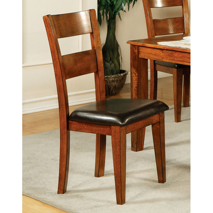 Mango Side Chair in Light Oak Finish