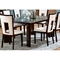 Delano 7 Piece Contemporary Dining Set in Espresso - SSC-DE600-7PC