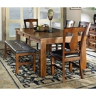 Lakewood 6 Piece Dining Set with Extending Table