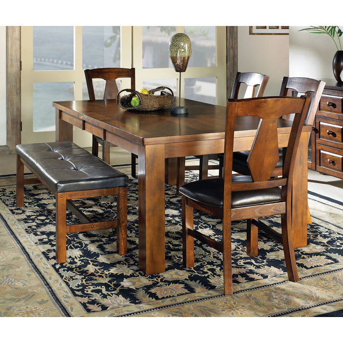 Lakewood 6 Piece Dining Set with Extending Table - SSC-LK400-6PC