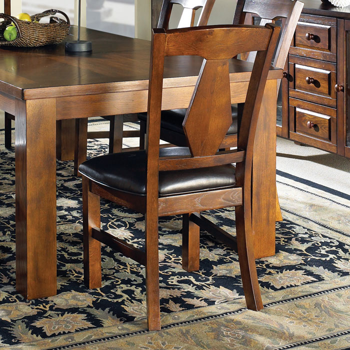 Lakewood Dark Brown Side Chair