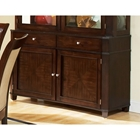 Marseille Dark Cherry Finished Buffet Table