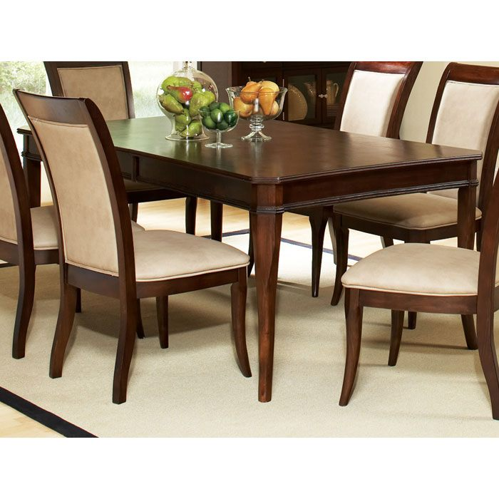 Marseille Extending Dining Table in Dark Cherry - SSC-MS800T