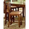 "Montreal 24"" Wood Counter Chairs - Microfiber Seat"